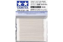 Tamiya Craft Cotton Swab - Round/XS/50 Pieces image
