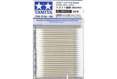 Tamiya Cotton Swabs Round Small 50pcs image
