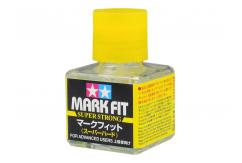 Tamiya Mark Fit Super Strong Decal Solution 40ml Bottle image