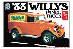 AMT 1/25 1933 Willys Panel Truck image