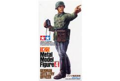 Tamiya 1/25 German Artillery Officer - Metal Modern Figure image