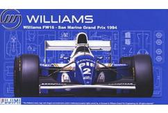 Fujimi 1/20 Williams FW16 Renault San Marino GP w/Coating Material image