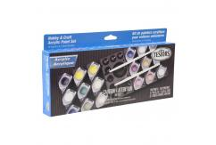 Testors Acrylic Paint Set Aircraft 18 Piece image