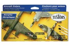 Testors Acrylic Aircraft Finishing Kit image