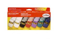 Testors Auto & Truck Colors Acrylic Paint Set image