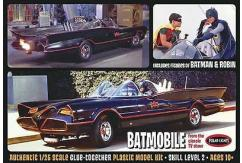 Polar Lights 1/25 '66 Batmobile with Batman & Robin Figures image