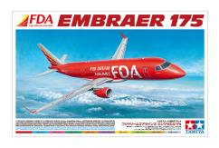 Tamiya 1/100 FDA Embraer 175 Fuji Dreams Airlines image