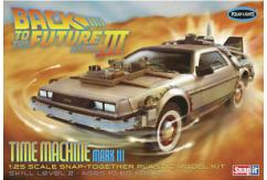 Polar Lights 1/25 Back to the Future III Time Machine Mark III Snap Kit image
