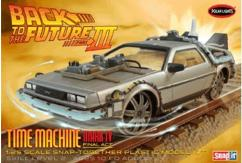Polar Lights 1/25 Back to the Future III Time Machine Mark IV Snap Kit image