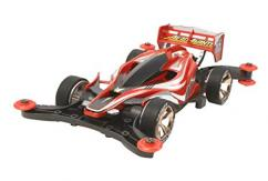 Tamiya Mini 4WD Aero Avante Clear Red Special image