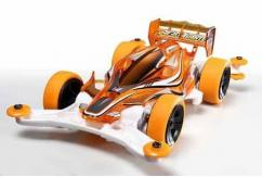 Tamiya Mini 4WD Aero Avante Clear Orange Special image