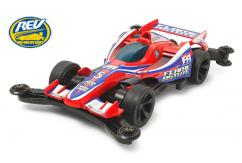 Tamiya Mini 4WD Jr Flame Astute Red Special - Limited Edition image