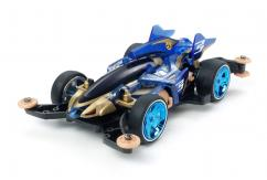 Tamiya 1/32 Shooting Proud Star Ma Chassis Clear Blue Mini 4WD image