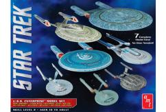 AMT 1/2500 Star Trek U.S.S Enterprise Box Set - Snap image