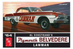 AMT 1/25 1964 Plymouth Belvedere Lawman Super Stock image