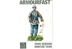 Armourfast 1/72 WWII German Mortar Team image