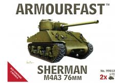 Armourfast 1/72 Sherman M4A3 76mm image