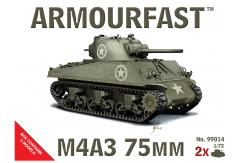 Armourfast 1/72 Sherman M4A3 75mm image