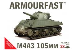 Armourfast 1/72 Sherman M4A3 105mm image