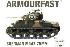 Armourfast 1/72 Sherman M4A2 75mm image
