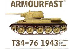 Armourfast 1/72 T34-76 1943 image
