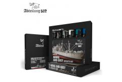 Abteilung Naval & Grey Effects Paint Set image