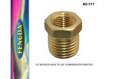 Fengda AC-100 to Badger Hose Adapter image