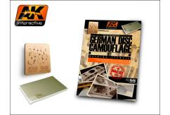 AK Interactive Books/DVDs German Camo Disc Set 1/48 image