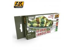 AK Interactive German Green/Brown Modulation Set image
