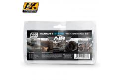 AK Interactive Exhaust Stains Weathering Set image