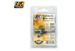 AK Interactive Luftwaffe Pre-War Camo Colours Set image