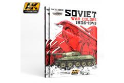 AK Interactive Books/DVDs Soviet War Colours Profile Guide image