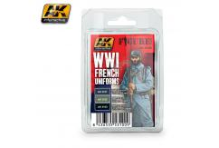 AK Interactive WWI French Uniforms Set image