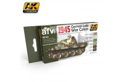 AK Interactive 1945 German Late War Colour Set image