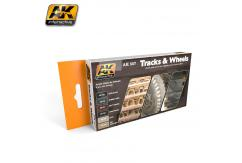 AK Interactive Track & Wheels Set image