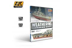 AK Interactive Books/DVDs Weathering Techniques German Ships image