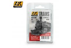 AK Interactive Trains Locomotive & Wagon Weathering Set image