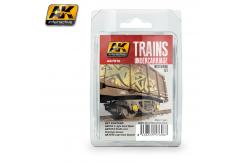 AK Interactive Trains Undercarriage Weathering Set image