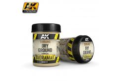 AK Interactive Terrains Dry Ground 250ml - Acrylic image