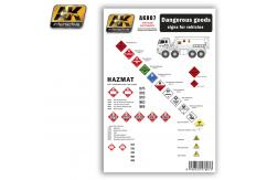 AK Interactive Decals Dangerous Goods Signs Modern image