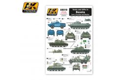 AK Interactive Decals Tanks & AFV's in Bosnia image