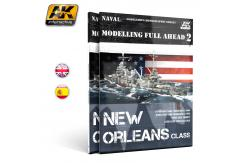 AK Interactive Books/DVDs Modelling Full Ahead 2 New Orleans Class image