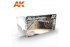 AK Interactive Auto Black with Cream Interior image