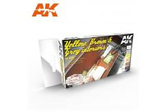 AK Interactive Auto Yellow, Brown, Grey Interior image