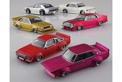 Aoshima 1/64 Diecast Gurachan Collection - 12 Pieces image