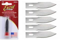 Excel #2 Shallow Curve Blade 5 Pack image