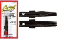 "Excel Wood Carving Chisel 3/16"" 2 Pack image"