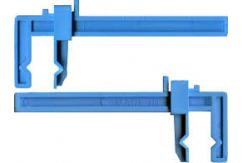 "Excel Plastic Clamps Small 3 1/2"" image"