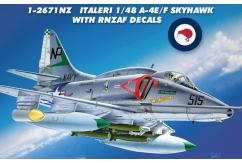 Italeri 1/48 A-4E/F Skyhawk with RNZAF Decals image
