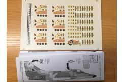 Flying Kiwis 1/72 RNZAF T/A-4K Skyhawk Decal Set image